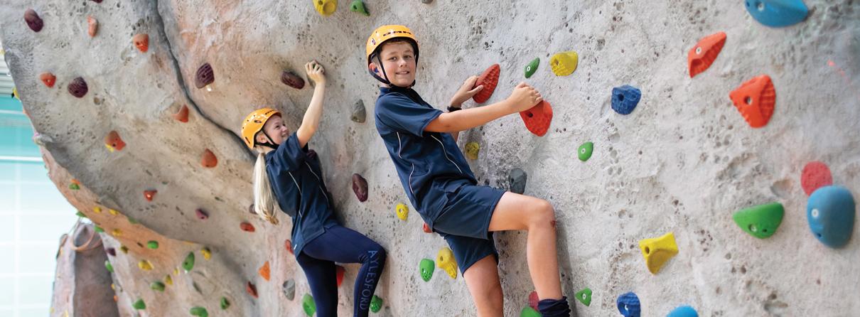 Aylesford-School-Climbing-wall