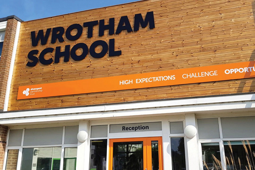 Wrotham-School-Signage